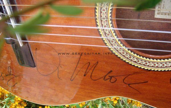 Al Di Meola autograf na Luxor Concert